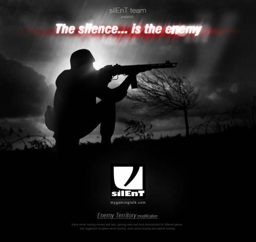 Official silEnT mod poster
