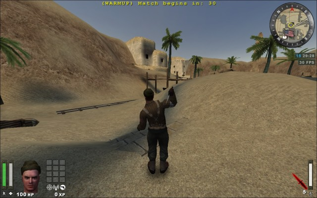 knife throw anim 3rd person view